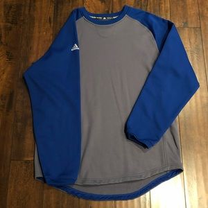 Adidas Baseball Fleece-Lined Pullover/Sweatshirt
